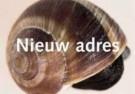 Paul Baars (1949)  -  Text and image no. 48 / Nieuw adres - Postcard -  C9515-1