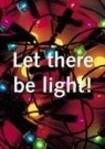 Paul Baars (1949)  -  Text and image no. 65 / Let there be light - Postcard -  C9532-1