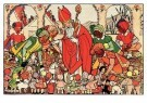 Rie Cramer (1887-1977)  -  Sinterklaas - Postcard -  C9604-1