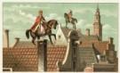 Jan Schenkman (1806-1863)  -  Sinterklaas - Postcard -  C9627-1