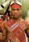 Frans Welman  -  A Young Naga warrior - Postcard -  C9959-1