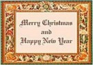 Django  -  Border, Merry Christmas - Postcard -  D0571-1