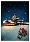 Jan Lavies (1902-2005)  -  omslag kerstmenu - Postcard -  D0708-1