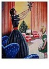 Jan Lavies (1902-2005)  -  omslag kerstnummer - Postcard -  D0709-1