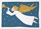 Muriel de Crayencour  -  Ange & Trompette - Postcard -  D0809-1