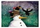 Capucine Mazille  -  Hoi het sneeuwt! - Postcard -  D0908-1