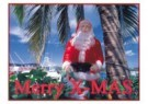 Thomas Haltner  -  Christmas on Bahamas - Postcard -  D0927-1