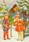 -  Prentbriefkaart, ca. 1930 - Postcard -  D1068-1