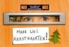 Fred Ottens  -  Maar wel kerstkaarten] - Postcard -  D1098-1