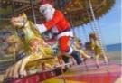 Gill Hasson  -  Santa in Brighton - Postcard -  D1100-1