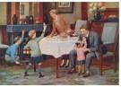 -  De schoentjes zijn gevuld, ca. 1930 - Postcard -  D1113-1