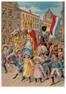 -  Intocht Sinterklaas, 19e eeuw - Postcard -  D1118-1