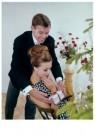Spaarnestad Fotoarchief,  -  Huwelijksaanzoek bij de kerstboom - Postcard -  D1188-1
