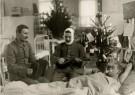 Spaarnestad Fotoarchief,  -  kerst,eerste wereldoorlog, een gewonde soldaat - Postcard -  D1208-1