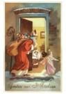 000004 -  Sint op bezoek - Postcard -  D1221-1