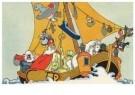-  Sint op de woelige baren - Postcard -  D1239-1
