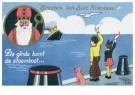 -  Aankomst van Sint Nikolaas - Postcard -  D1241-1