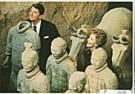 Li Ping  -  Reagan in China - Postcard -  F1476-1