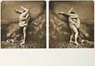 Jan Saudek (1935)  -  Saudek/ The Kiss - Postcard -  F1691-1