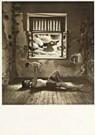 Jan Saudek (1935)  -  Saudek/ Man en kind voor raam - Postcard -  F1696-1