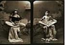 Jan Saudek (1935)  -  Saudek/ (2 meisjes,2-deling) - Postcard -  F1717-1
