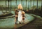 Jan Saudek (1935)  -  Jan Saudek/Destiny walks down - Postcard -  F1910-1