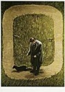 Teun Hocks (1947)  -  Untitled - Postcard -  F1945-1