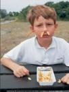 Ronald Hammega (1948)  -  De patat komt m'n neus en oren uit / fries / frites / friet - Postcard -  PC105-1