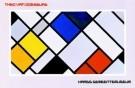 Theo van Doesburg (1883-1931)  -  Haags Gem. Mus./ 63*97/ K W - Postcard -  PS048-1