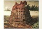 Pieter Bruegel the Elder  -  Toren Babel - Postcard -  PS1000-1