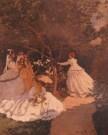 Claude Monet (1840-1926)  -  Femmes aux jard - Postcard -  PS1009-1