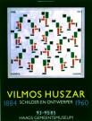Vilmos Huszar (1884-1960)  -  Schaatsenrijders/ 60*80/ K - Poster -  PS138-1