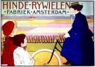 J.G.van Caspel (1870-1926)  -  Hinde Rijwielen/ 61*86/ K - Postcard -  PS240-1