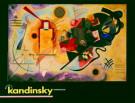 Vassily Kandinsky (1866-1944)  -  Kandinsky/Untitled/60*80/k/Br - Poster -  PS251-1