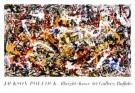 Jackson Pollock (1912-1956)  -  Convergence - Postcard -  PS342-1