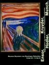 Edvard Munch (1863-1944)  -  Munch/De Schreeuw/60*80/BvB/BR - Poster -  PS381-1