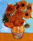 Vincent van Gogh (1853-1890)  -  Sunflowers - Postcard -  PS488-1