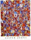 Jasper Johns (1930)  -  Nrs in Color - Postcard -  PS494-1