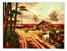 Cornelis Jetses (1873-1955)  -  Heide in mei - Postcard -  PS545-1