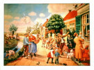 Cornelis Jetses (1873-1955)  -  C.Jetses/Vertelsesplaat/45x60 - Poster -  PS546-1