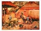 Cornelis Jetses (1873-1955)  -  Laatste hooivr - Postcard -  PS548-1