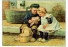 Cornelis Jetses (1873-1955)  -  Ot en Sien - Postcard -  PS552-1