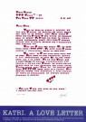Giora Katri  -  Giora Katri/love letter/68x47, - Poster -  PS681-1