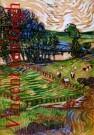 Vincent van Gogh (1853-1890)  -  van Gogh/Tekening,rood/Mondado - Postcard -  PS682-1