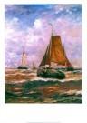 Hendrik W. Mesdag (1831-1915)  -  Mesdag/Vallende bommen/50*70 - Postcard -  PS790-1