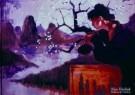 Nico Vrielink (1958)  -  Bloesemvrouw - Postcard -  PS797-1
