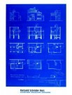 Gerrit Th. Rietveld (1888-1964 -  Blauwdruk - Postcard -  PS815-1