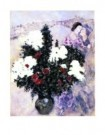 Marc Chagall (1887-1985)  -  White Lilacs - Postcard -  PS898-1