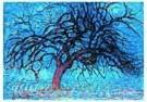 Piet Mondrian (1872-1944)  -  De rode boom - Postcard -  QA016-1