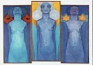 Piet Mondrian (1872-1944)  -  Evolutie - Postcard -  QA018-1